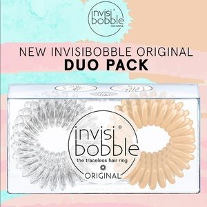 5/$25💜NWT! Invisibobble Original Duo Pack